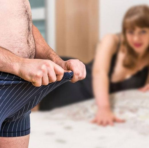 mancanza di erezione durante il rapporto